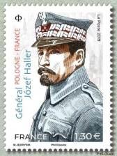 Timbre: Général Jozef Haller