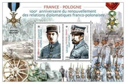 Timbre: France-Pologne