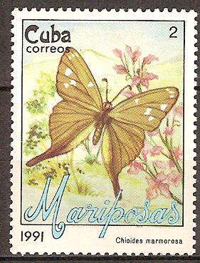 Timbre: Papillon (1ex)
