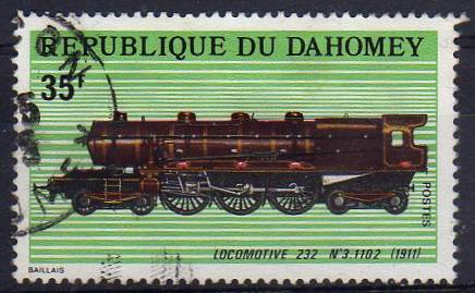 Timbre: Locomotive 232 N°3.1102 (1911) - OR