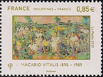 Timbre: France Philippines