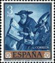 Timbre: Francisco de Zurbaran