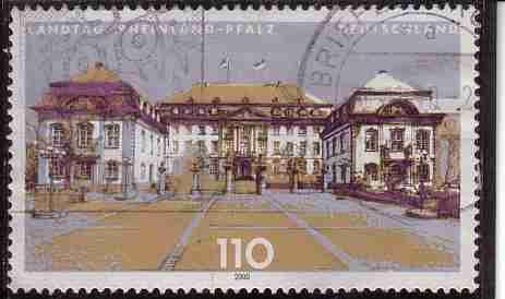 Timbre: Le Landtag de Rhénanie-Palatinat