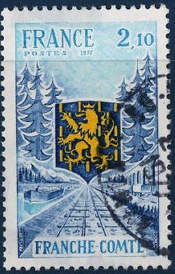 timbre: Région Franche-Comté