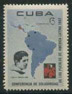 Timbre: OLAS. Luis A. Turcios Lima