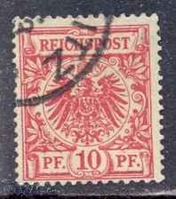 Timbre: Reichpost