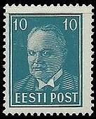 Timbre: Président Päts