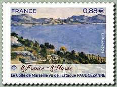 Timbre: Le golfe de Marseille (obli ronde svp)