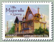 Timbre: Villa Majorelle à Nancy