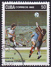 Timbre: Football, Espana 82
