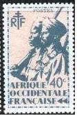 Timbre: 0006 - Tirailleur sénégalais et cavalier maure