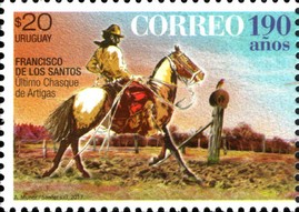 Timbre: 190th Anniversary of the Uruguayan Postal Service