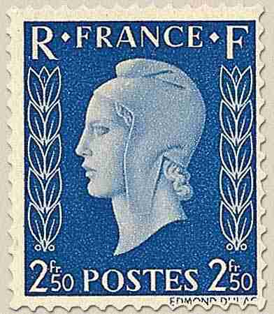 timbre: Marianne de Dulac - Type I - n-5-10