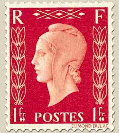 timbre: Marianne de Dulac (Type II)