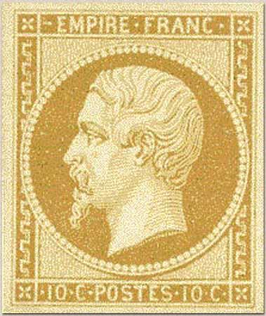 timbre:  Napoléon III