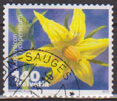 timbre: Légumes en fleurs - Lycopersicon