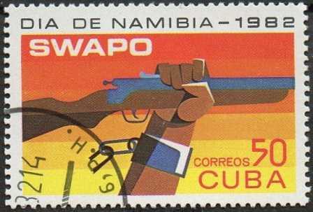 Timbre: Journée de la Namibie