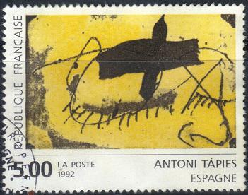 Timbre: Antoni Tapies, Espagne