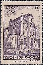 Timbre: Cathédrale de Monaco