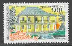 Timbre: Saint-Pierre - Réunion
