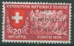 Timbre: Exposition Nationale de Zürich