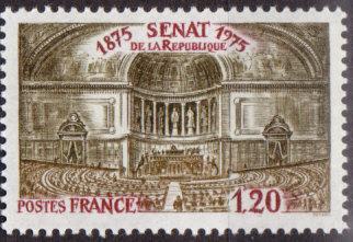 Timbre: Sénat de la République