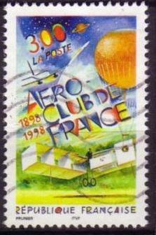 Timbre: Aéro-club de France x 2