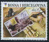 Timbre: Europa Bosnie-Herzégovine 2008 (BF) -