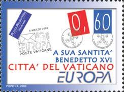Timbre: Europa Vatican 2008