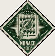 Timbre: Jeux Olympiques
