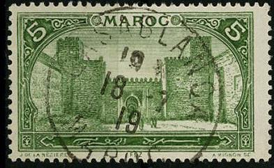 timbre: Le grand méchouard à Fes