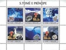 timbre: Minéraux et volcans BF 6v