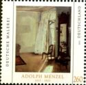 timbre: Chambre au balcon (Adolph Menzel)