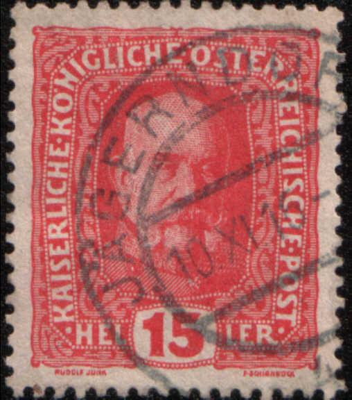 timbre: Francois-Joseph 1er