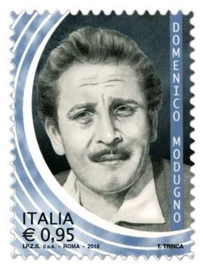 timbre: Domenico Modugno, chanteur