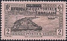 Timbre: Sur le fleuve Ogooué