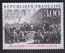 Timbre: Bicentenaire de la Révolution