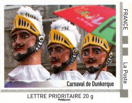 timbre: Nord-Pas de Calais 2011- Carnaval de Dunkerque