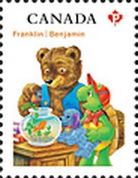 Timbre: Franklin et l'ours Martin