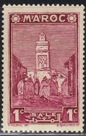 timbre: Mosquée de Salé