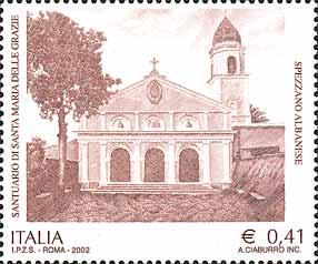 timbre: Sanctuaire de Santa Maria Delle Grazie