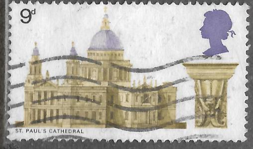 Timbre: Cathédrale Saint-Paul de Londres