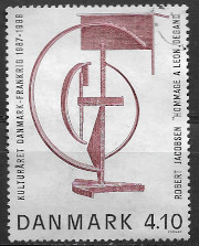 timbre: Année culturelle France-Danemark