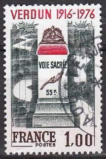 Timbre: Verdun - Voie sacrée