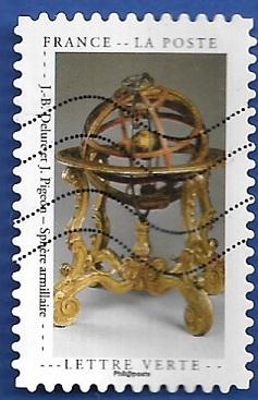 Timbre: Cabinet de curiosités : Sphère armillaire